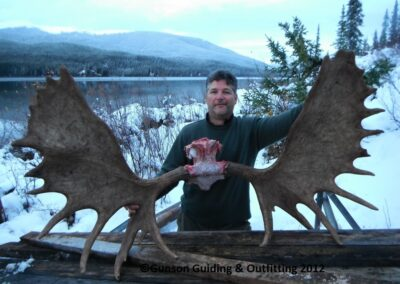 58″ bull moose, late Sept.